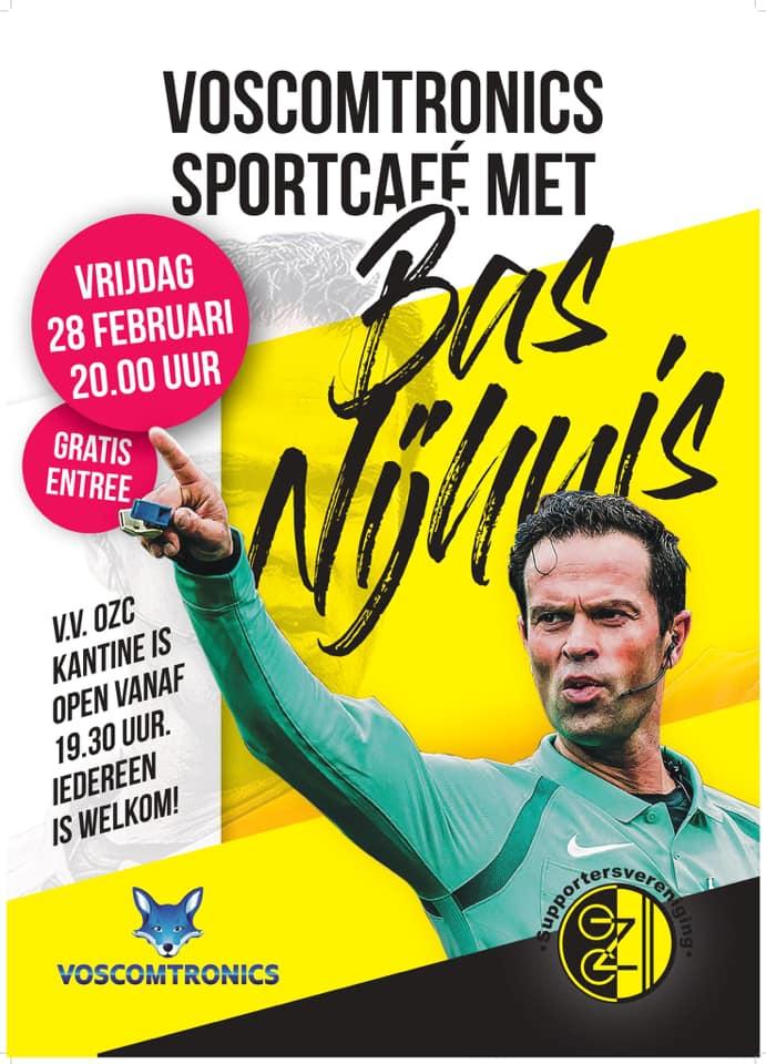 OZC Sportcafé met Bas Nijhuis als hoofdsponsor