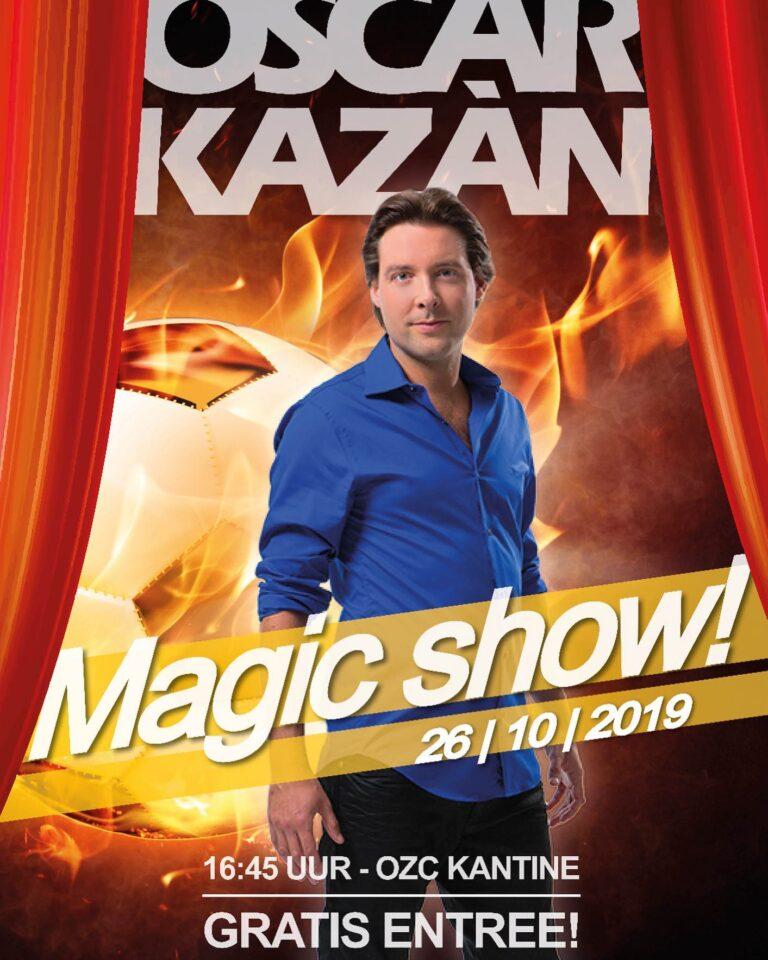 Magic Unlimited Show als hoofdsponsor